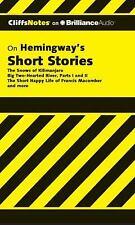 Cliffs Notes: Hemingway's Short Stories 0 by James L. Roberts (2012, CD,...