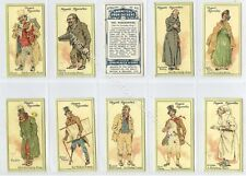 Full Set, Players, Characters from Dickens, 2nd Series 1912 VG+ (Gb1882-408)
