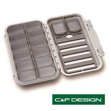 C et f design large 5-Row 12 compartiment fly box (CF-3305N) ** 2017 titres **