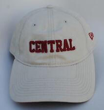 CENTRAL Adjustable Leather Strapback NEW ERA 9TWENTY Dad Hat Baseball Cap
