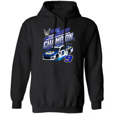 Men's 2020 Chase Elliott NASCAR Cup Series Champ Black Hoodie S-4XL