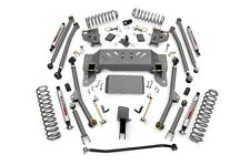 "ROUGH COUNTRY 4"" ZJ JEEP GRAND CHEROKEE LONG ARM SUSPENSION LIFT KIT 93-98 4WD"