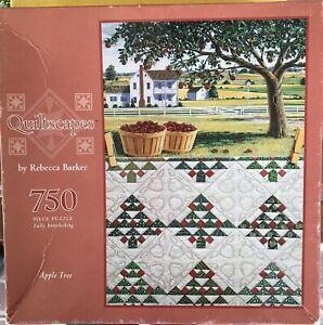 """Quiltscapes 750 Piece Puzzle """"Apple Tree"""""""