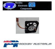 12VDC 40x40xmm 3 Wire Ball Bearing Fan  4010L12F NF1  Pk-4)