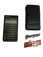 VINTAGE HP-42S Programmable Calculator Slip Case and free new batteries TESTED