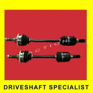 NEW CV JOINT DRIVE SHAFT HOLDEN COMMODORE VE REAR V6 & V8  (Pair) 2006- 1