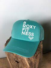 Roxy Mesh Cap - Aqua Blue - Roxy Fitness - New