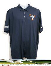 Nike Dri-Fit Men's Golf Shirt Short Sleeve Size Xlarge Blue Nice Polyester