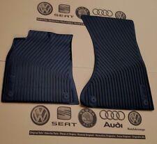 Audi A5 B8 8T original S5 Fußmatten Gummimatten vorne Gummifußmatten rubber mats