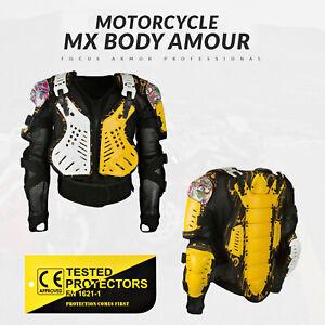 Adult Spine Motocross Body Armour Bikequad Protective Enduro Bionic Quad Jacket