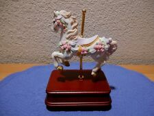 The San Fransisco Music Box Co Carousel Horse Music Box 1989