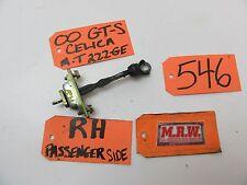 00-05 CELICA DOOR STOP STRAP CHECK STOPPER HINGE RIGHT PASSENGER RF RH R OEM CAR