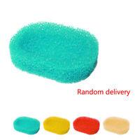 3PCS New Random Bathroom Foam Rack Holder Candy Color Soap Dish Sponge Plate