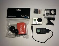 GoPro HERO3+ Black Action Camera Plus WiFi Remote and Accessories