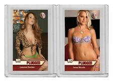 Lena Nicole rare MH Plugged #'d 2/3 Tobacco card no. 517