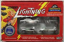Johnny Lightning - Commemorative 4-Car-Set B mit Corvette Vicious Vette Neu/OVP