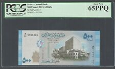 Syria 500 Pounds 2013 P115 Uncirculated Grade 65