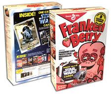 General Mills FRANKENBERRY Cereal Box MONSTER CEREALS