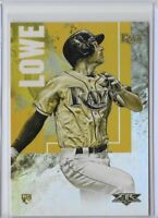 2019 Topps Fire Brandon Lowe Gold Parallel Rookie SP No. 53