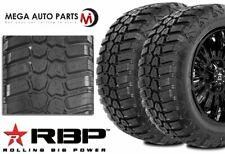 2 Rbp Repulsor Mt Rx 28570r17lt 121118q 10 Plye Off Road Truck Mud Tires