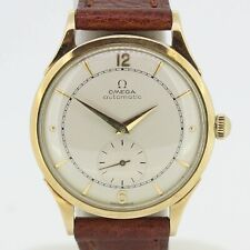 Vintage Omega 14ct Rose Gold Automatic Watch