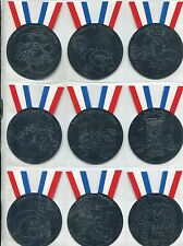 Garbage Pails Kids 2014 Series 1 Complete Silver Medal Chase Card Set 1-10
