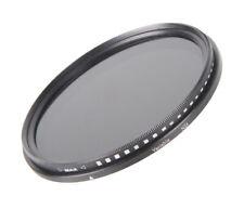 55mm variable filtro gris nd2-nd400 Fader ND /& 58mm objetivamente tapa lens cap