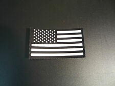 """FWD USA FLAG WHITE ON IR MB solasX PATCH 3.5""""X2"""" WITH VELCRO® BRAND FASTENER"""