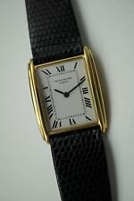 PATEK PHILIPPE 4268 RECTANGLE 18K YELLOW GOLD LADIES DATES 1975-80 BUY IT NOW!!