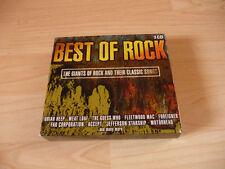 3 CD Box Best of Rock: Uriah Heep Foreigner Fleetwood Mac Jefferson Starship ...