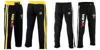 MENS JOGGING BOTTOMS JOGGERS TRACKSUIT FLEECE PANTS GYM SWEATS New S-3XL