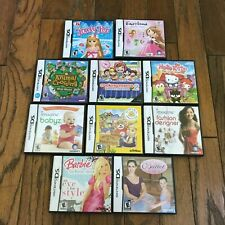 Lot of 10 Nintendo DS games , You Choose! Very good condition in box, manual