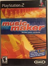 MAGIX Music Maker for PS2 (Sony PlayStation 2 2003) Black Label Complete