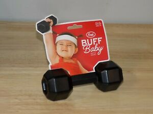 Fred Buff Baby Rattle Dumbell Shape Cute Baby Shower Toddler Gift 5151856