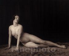 1925 ORIGINAL Vintage German Art Deco FEMALE NUDE Woman Photo Gravure By PAULSEN