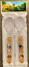 Disney Tinkerbell Farories  Spoons Set Easy Grip BPA Free by Zak! 3+