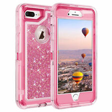 360° Liquid Glitter Bling Heavy Duty Case Cover For iPhone XR XS Max 7 8 6S Plus