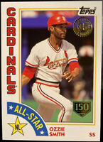 2019 Ozzie Smith /150 Topps 1984 All Star 35th Anniversary 150th Year # 113/150