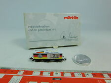 AU588-0,5# Märklin mini club Z/DC Vagón contenedor Navidades Euro/Mark, W+