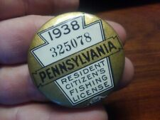 Pa fishing license buttons