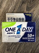 One A Day Men's 50+ Healthy Advantage, Multivitamin Exp 6/2021 Health Vitamins