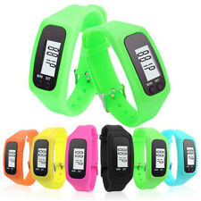 Digital LCD Pedometer Wrist Bracelet Step Walking Run Distance Calorie Counter