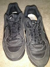 Nike Air Max Leather Limited Edition Black Performance Sneaker Mens Shoe Sz 11.5