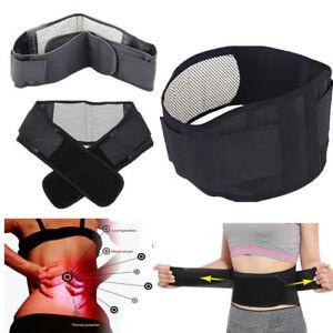 Self Healing Tourmaline Magnetic Therapy Lower Back Backache Support Waist Belt