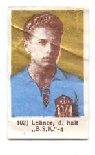 Football card GUSTAV LECHNER LEHNER BSK BELGRADE YUGOSLAVIA  RARE FROM cca 1939