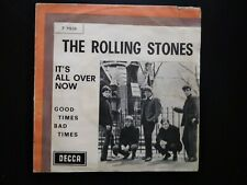 rolling stones its all over now solo copertina