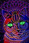 Louis Wain Decorative Cat Poster Reproduction Paintings Giclee Canvas Print