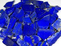 2500 CT NATURAL BLUE LAPIS LAZULI ROCK ROUGH SLAB,TILE AFGHAN UNTREATED GEMSTONE