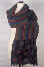 Pashmina Schal, Punkte polka dots scarf gecrashed  Wolle scarf foulard écharpe