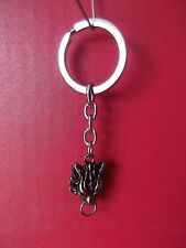 "Final Fantasy Metal Wolf  Key Chain 1""in Good Quality"